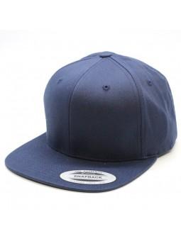 Organic Cotton FLEXFIT Snapback navy cap (6089OC)