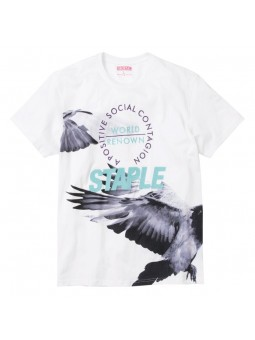 Camiseta Wings STAPLE blanco