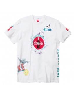 Camiseta Coca Cola Always STAPLE blanco