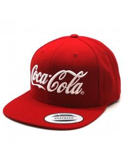 Gorra Coca Cola FLEXFIT Snapback rojo (6089)