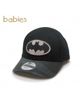 Gorra de Bebé BATMAN Camo 9FORTY New Era negro (toddler)