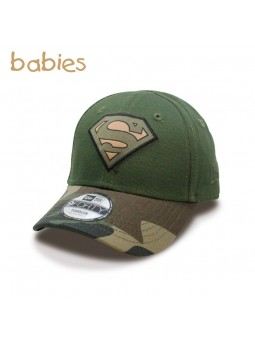 Gorra de Bebé SUPERMAN Camo 9FORTY New Era verde oliva (toddler)