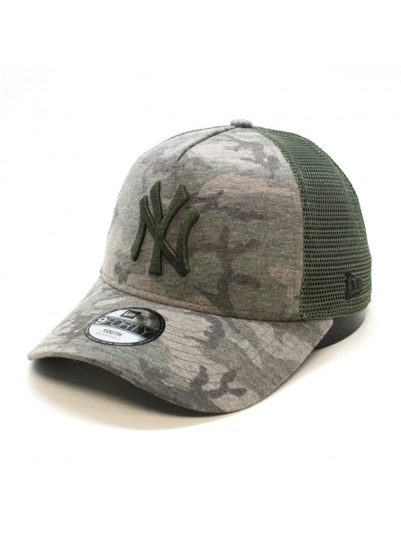 24b3796aa New York YANKEES MLB Camo 9FORTY New Era camouflage youth trucker cap