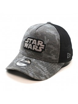 STAR WARS Camo Camouflage youth trucker black Cap