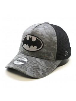 Gorra de niño rejilla BATMAN camo negro