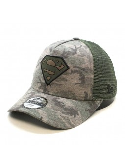 SUPERMAN Camo Camouflage youth trucker Cap
