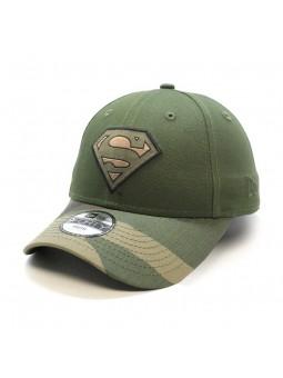Gorra de niño SUPERMAN Camo 9FORTY New Era verde oliva