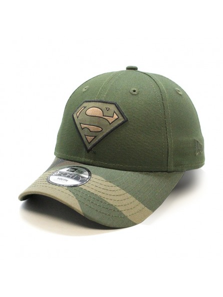 big sale 6b739 7b8d0 superman-camo-9forty-new-era-olive-youth-cap.jpg