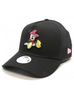 Disney Essential MINNIE MOUSE New Era black trucker Cap