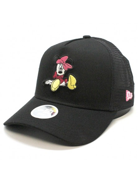b26375a5 Disney MINNIE MOUSE New Era black/white trucker Cap