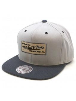 Snapback Cap Mitchell & Ness Terrain grey