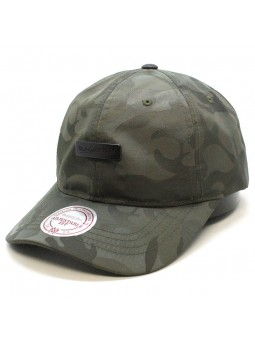 Poly Camo Mitchell & Ness camouflage olive green cap