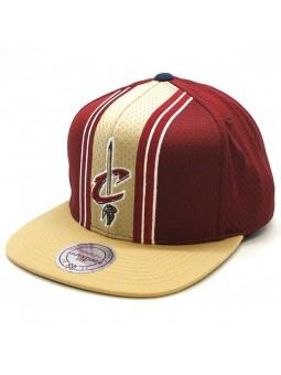 Cleveland Cavaliers NBA Jersey snapback Cap Mitchell & Ness maroon