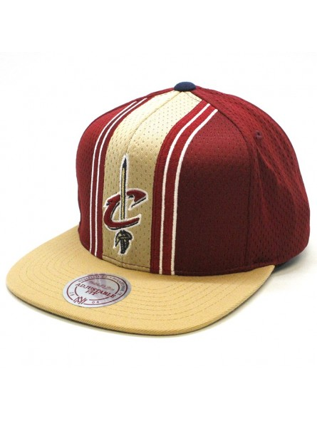 first rate 6ff22 bdc15 Cleveland Cavaliers NBA Jersey snapback Cap Mitchell & Ness maroon
