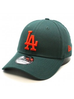 Gorra Los Angeles Dodgers League Basic MLB 39thirty New Era verde oscuro