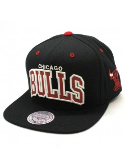 Chicago BULLS NBA Reflect VI06Z Mitchell & Ness Cap