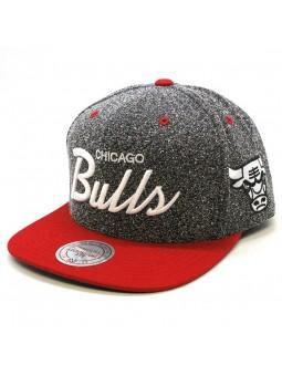 Chicago BULLS NBA Static VI17Z Mitchell & Ness Cap
