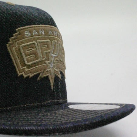 Mitchell & Ness Cap Dark Denim San Antonio Spurs