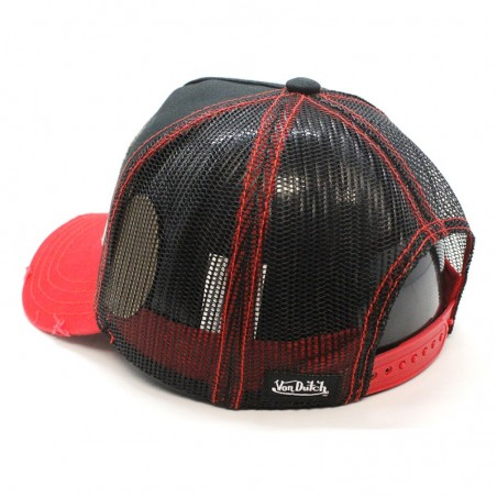 Von Dutch TRUCK09 black/red Cap