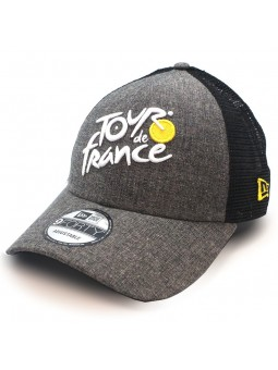 TOUR de FRANCE Chambray new era grey trucker Cap