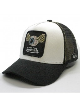 Von Dutch GRN2 white/black trucker Cap