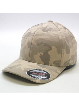 FLEXFIT 6277LC light camo dark beige Cap