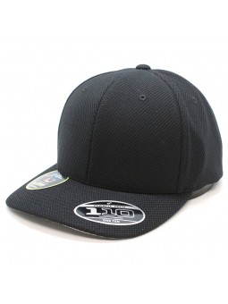 FLEXFIT 110VH Hybrid Adjustable Black Cap