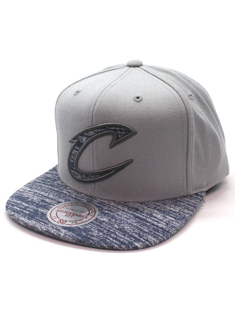 Cleveland CAVALIERS NBA Mitchell & Ness Solid Cro Cap