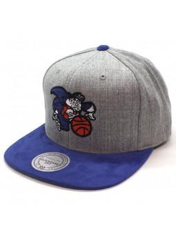 Gorra New York Knicks NBA Mitchell & Ness EU1012 snapback gris