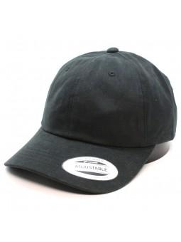 FLEXFIT 6245PT Peached Cotton Twill Dad black Cap