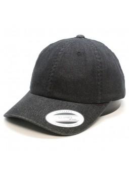 FLEXFIT 6245DE Low Profile Denim black Cap
