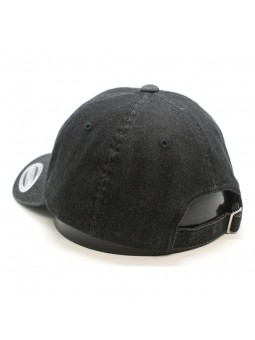 Gorra FLEXFIT 6245DE Low Profile Denim negro