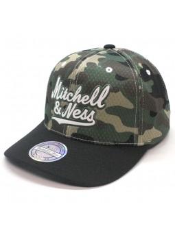 Gorra Mitchell & Ness 304 camuflaje/negro