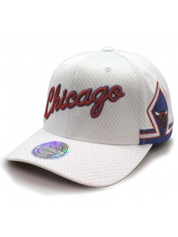 Chicago BULLS NBA 296 Mitchell & Ness white Cap