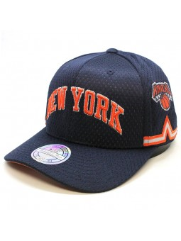 Gorra New York KNICKS NBA 296 Mitchell & Ness marino