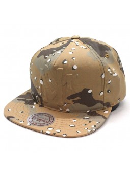 Mitchell and Ness 247 brown camouflage cap