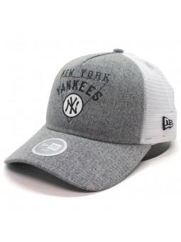 Gorra de rejilla New York YANKEES washed denim new era