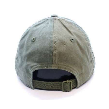 Canvas New Era 9FORTY olive Cap