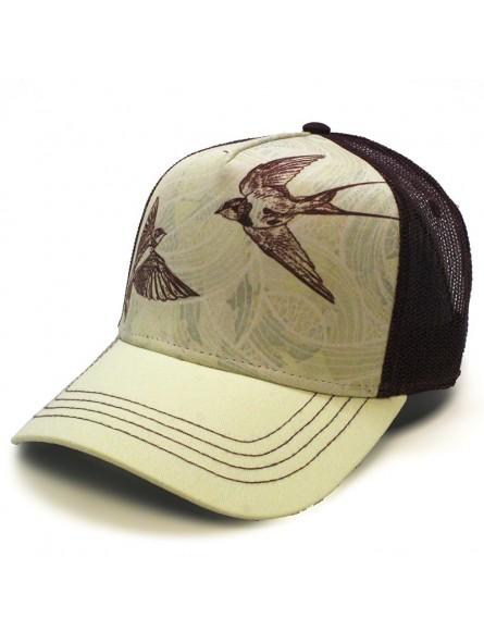 SWALLOW BIRDS TOP HATS Rapper Cap