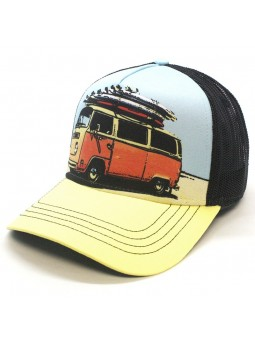 SURF VAN TOP HATS Rapper Cap