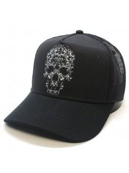 CLASSICAL SKULL ( visor ) TOP HATS Rapper Cap