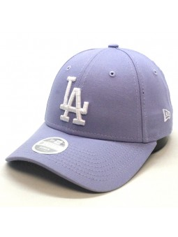Gorra de Mujer Los Angeles DODGERS MLB League Basic 9Forty New Era lila