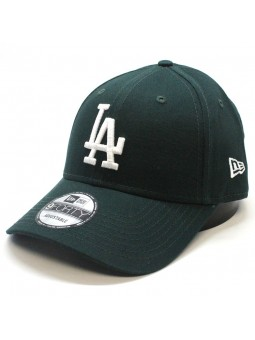 Gorra Los Angeles DODGERS MLB League Basic 9Forty New Era verde oscuro