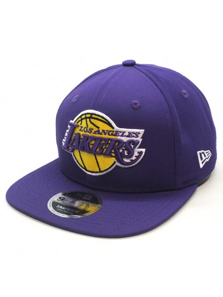 Gorra Los Angeles LAKERS NBA featherweight 9FIFTY New Era lila
