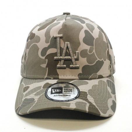 Los Angeles DODGERS MLB Camo Aframe New Era khaki Cap