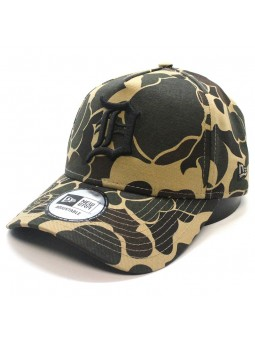 Gorra detroit TIGERS MLB Camo Aframe New Era kaki