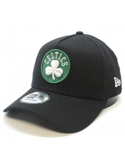 Boston CELTICS NBA Basic Aframe New Era black Cap
