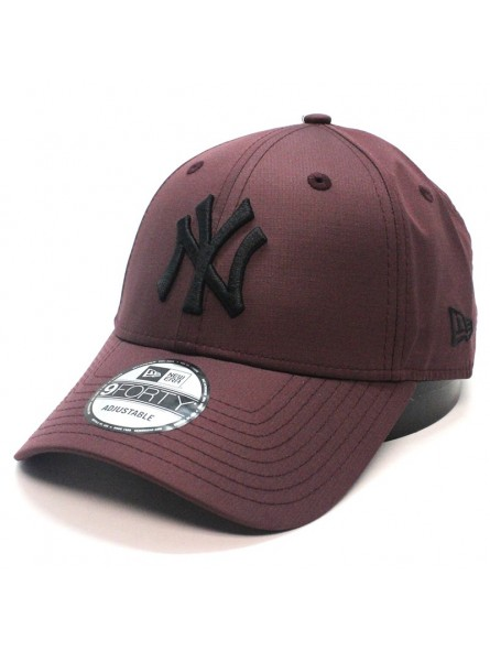New York YANKEES MLB Ripstop 9FORTY New Era maroon Cap
