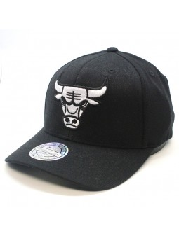 Gorra Chicago BULLS NBA Black & White 1033 Mitchell & Ness negro