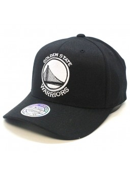 Gorra Golden State WARRIORS NBA Black & White 1033 Mitchell & Ness negro